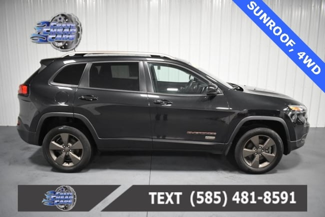 Used 2016 Jeep Cherokee 75th Anniversary Edition SUV for sale in Oakfield, NY