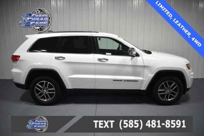 Used 2017 Jeep Grand Cherokee Limited SUV for sale in Oakfield, NY