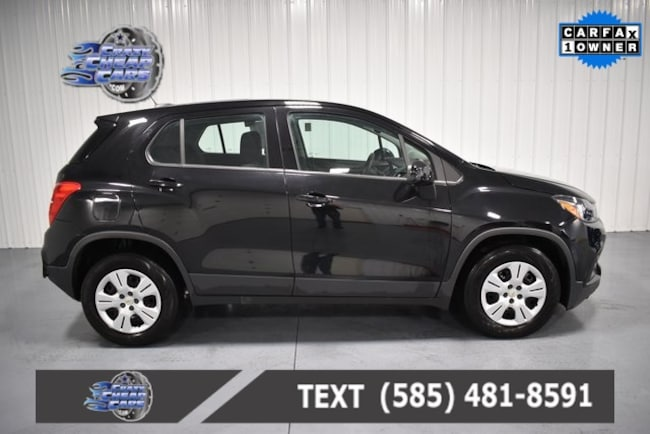 Used 2017 Chevrolet Trax LS SUV for sale in Oakfield, NY