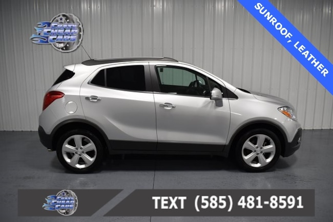 Used 2015 Buick Encore Leather SUV for sale in Oakfield, NY