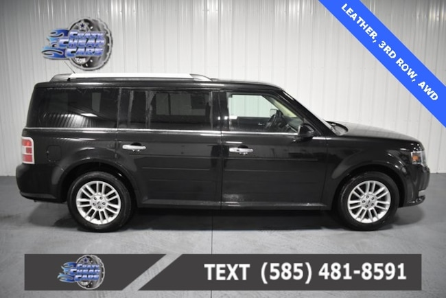 Used 2015 Ford Flex SEL SUV for sale in Oakfield, NY