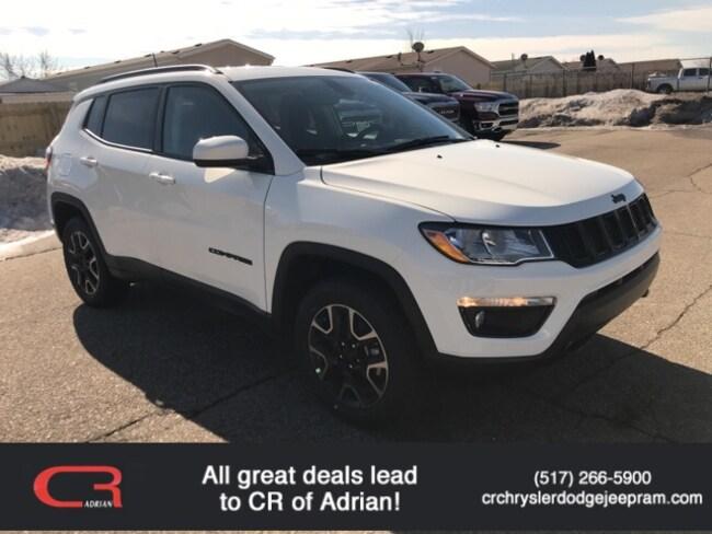New 2019 Jeep Compass UPLAND 4X4 Sport Utility in Adrian, MI