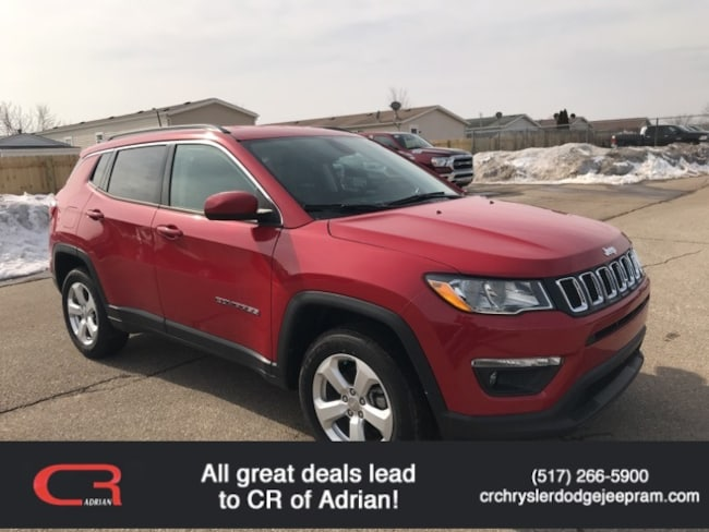 New 2018 Jeep Compass LATITUDE 4X4 Sport Utility in Adrian, MI