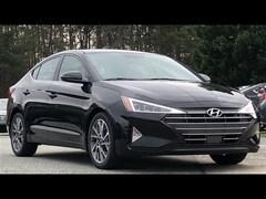 2020 Hyundai Elantra Limited Limited  Sedan