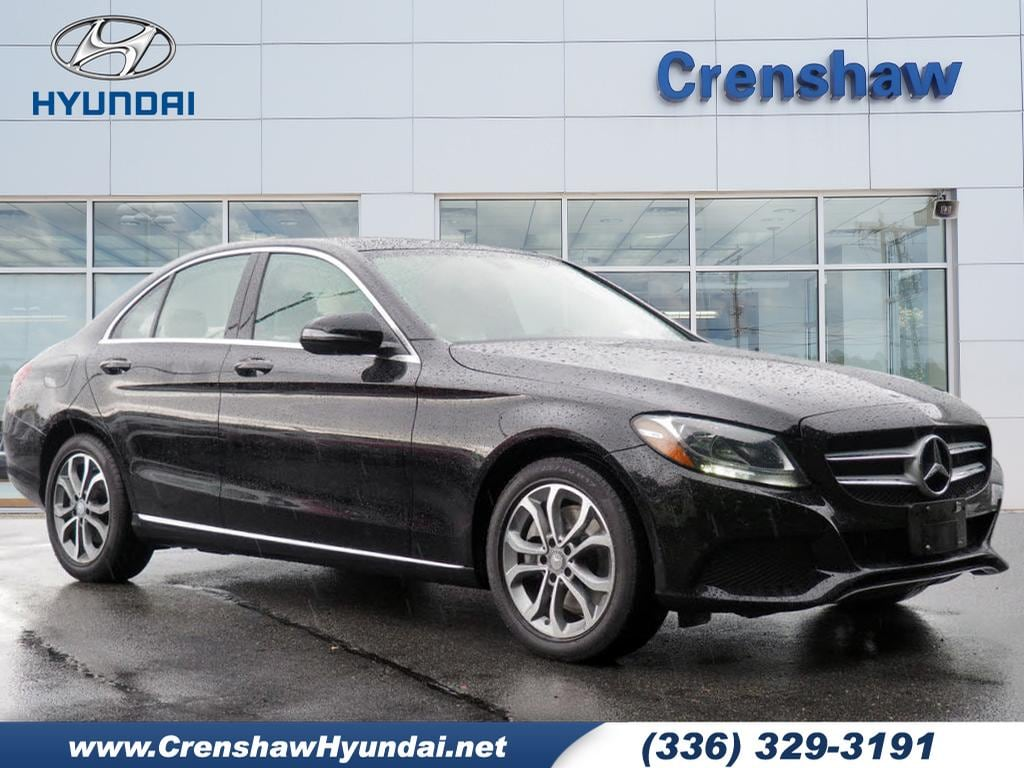 2016 Mercedes-Benz C-Class 4DR SDN C300 4mat AWD C 300 4MATIC  Sedan