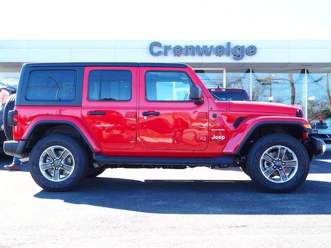 New 2019 Jeep Wrangler Unlimited Sahara 4x4 For Sale