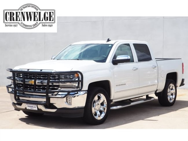Used 2017 Chevrolet Silverado 1500 LTZ w/1LZ Truck Crew Cab HG337197 For Sale Kerrville, TX