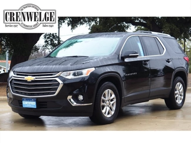 Used 2018 Chevrolet Traverse LT Leather SUV JJ132420 For Sale Kerrville, TX
