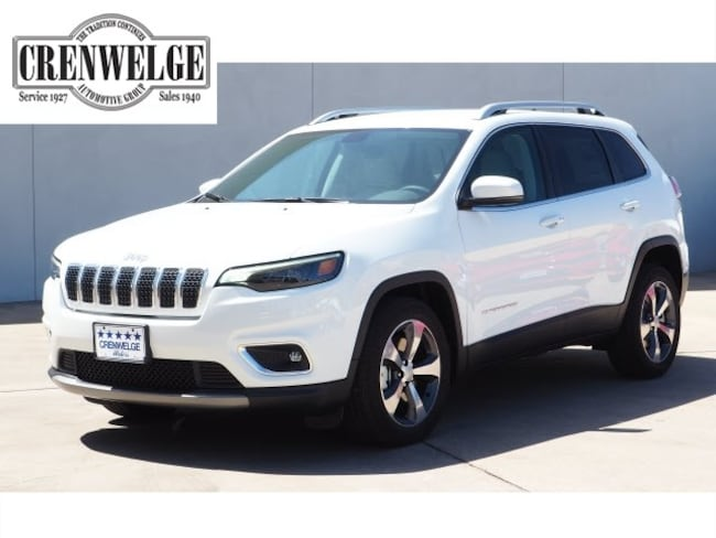 New 2019 Jeep Cherokee LIMITED FWD Sport Utility For Sale Kerrville, TX