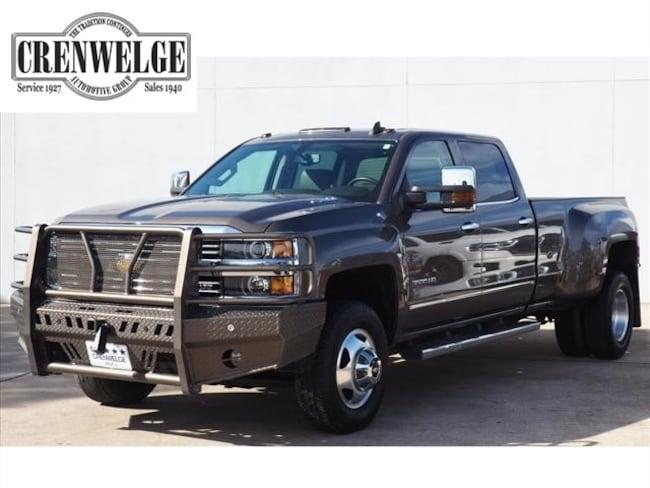 Used 2015 Chevrolet Silverado 3500HD LTZ Truck Crew Cab FF537862 For Sale Kerrville, TX