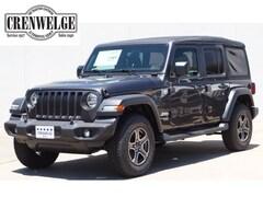 New Chrysler Dodge Jeep Models 2018 Jeep Wrangler UNLIMITED SPORT S 4X4 Sport Utility for sale in Kerrville near Boerne, TX