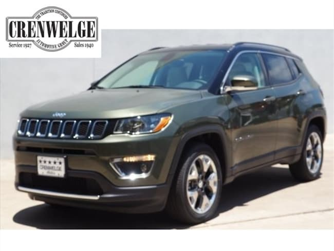 New 2018 Jeep Compass LIMITED FWD Sport Utility For Sale Kerrville, TX