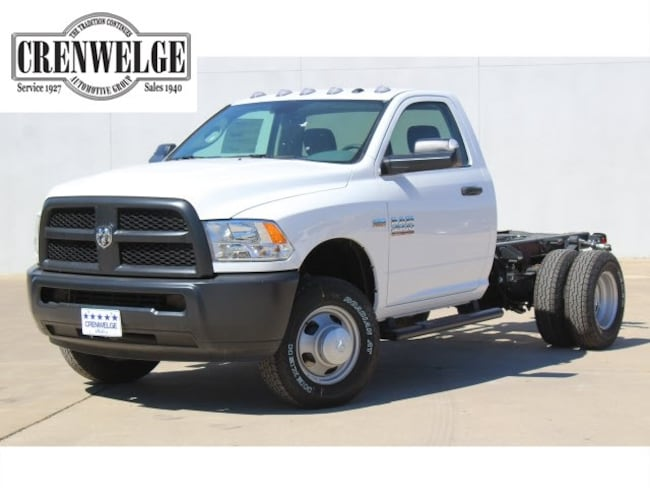 New 2018 Ram 3500 TRADESMAN CHASSIS REGULAR CAB 4X4 143.5 WB Regular Cab For Sale Kerrville, TX
