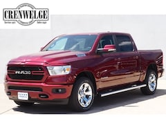 New Chrysler Dodge Jeep Models 2019 Ram 1500 BIG HORN / LONE STAR CREW CAB 4X4 5'7 BOX Crew Cab 1C6SRFFT7KN620831 for sale in Kerrville near Boerne, TX