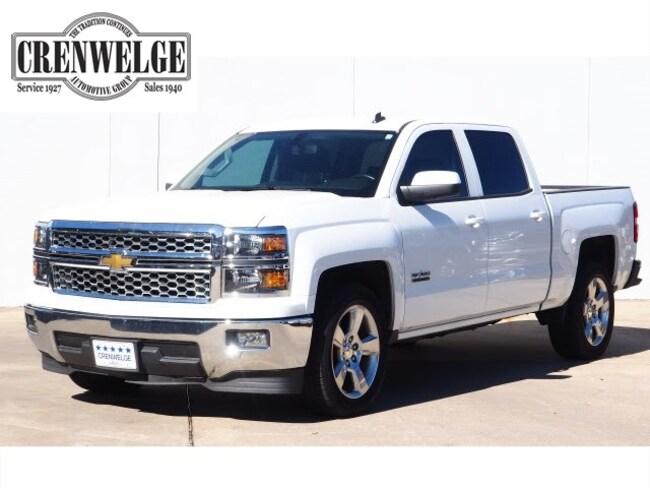 Used 2014 Chevrolet Silverado 1500 LT Truck Crew Cab EG518379 For Sale Kerrville, TX