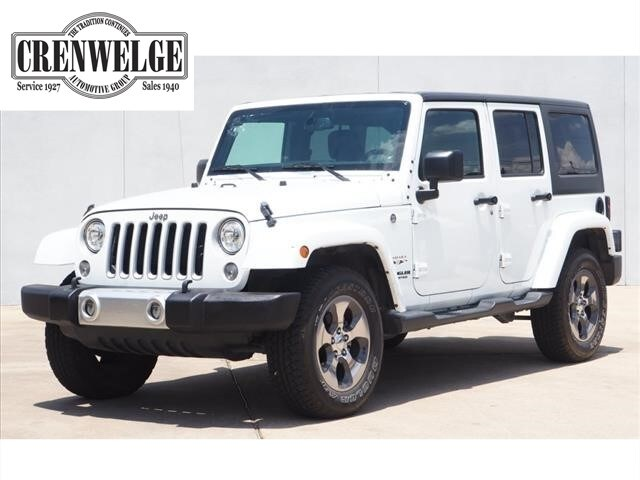 2017 Jeep Wrangler JK Unlimited Sahara 4x4 SUV HL668481