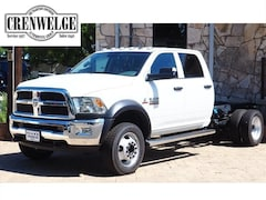 New Chrysler Dodge Jeep Models 2018 Ram 4500 TRADESMAN CHASSIS CREW CAB 4X4 173.4 WB Crew Cab 3C7WRLEL2JG258590 for sale in Kerrville near Boerne, TX