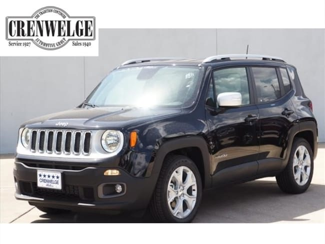 New 2018 Jeep Renegade LIMITED 4X2 Sport Utility For Sale Kerrville, TX