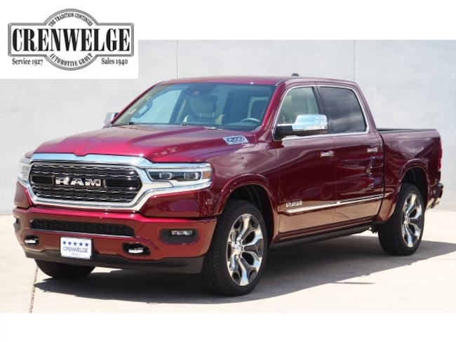 New 2019 Ram 1500 LIMITED CREW CAB 4X4 5'7 BOX Crew Cab For Sale Kerrville, TX