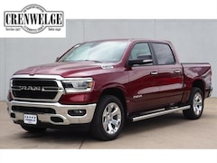 New Chrysler Dodge Jeep Models 2019 Ram 1500 BIG HORN / LONE STAR CREW CAB 4X4 5'7 BOX Crew Cab 1C6SRFFT9KN553438 for sale in Kerrville near Boerne, TX