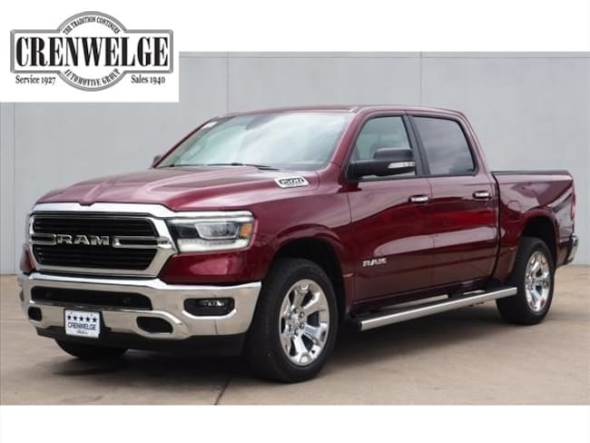 New 2019 Ram 1500 BIG HORN / LONE STAR CREW CAB 4X4 5'7 BOX Crew Cab For Sale Kerrville, TX