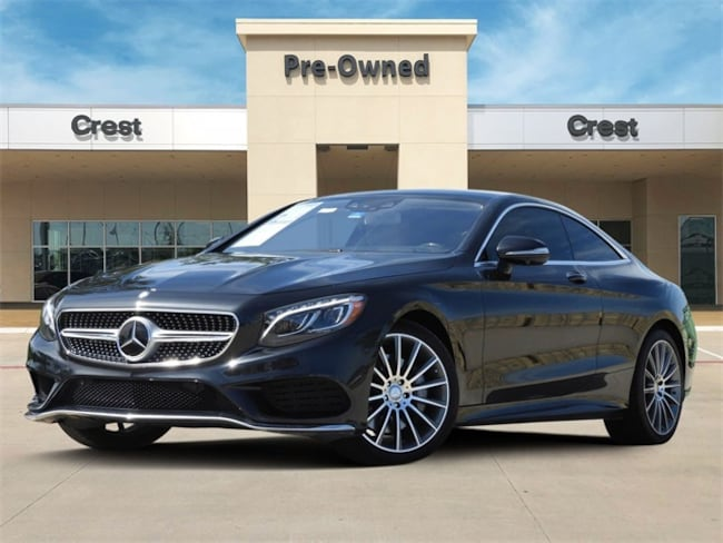 2016 Mercedes-Benz S-Class S 550 4matic® Coupe