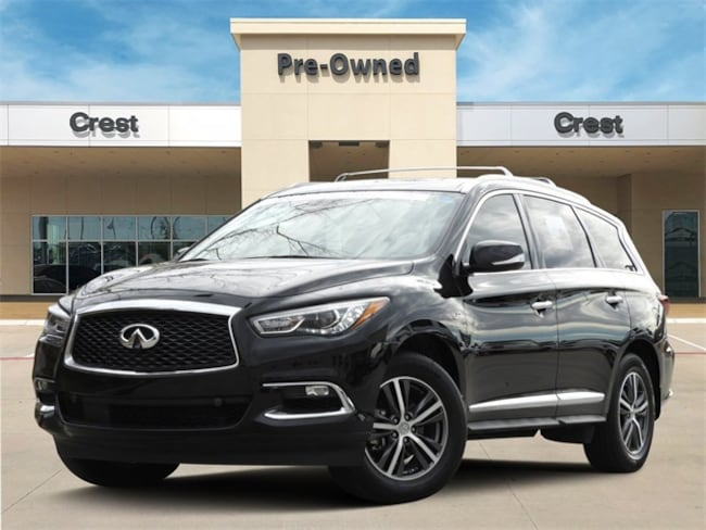 2019 INFINITI QX60 Luxe Proassist Essential Package AWD Certified SUV