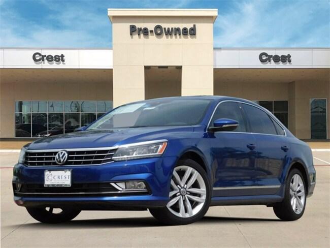 2017 Volkswagen Passat SEL Premium Sedan