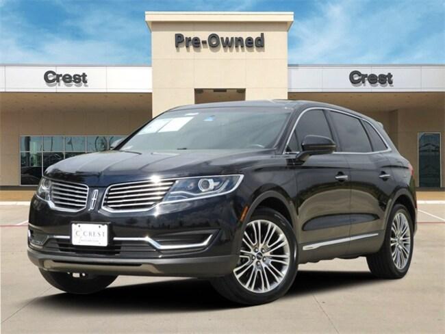 2017 Lincoln MKX Reserve SUV