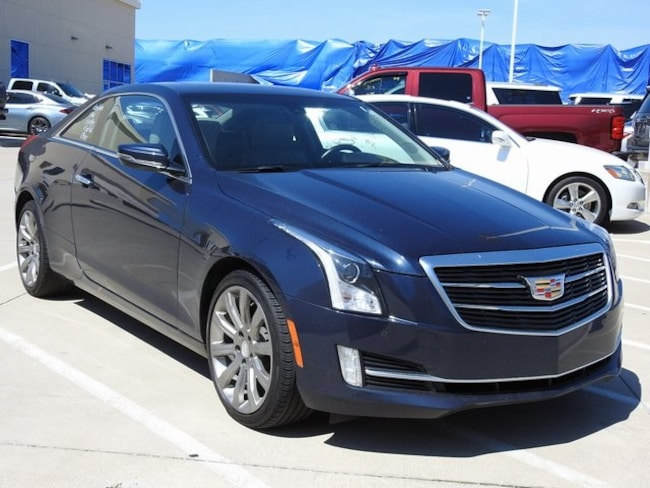 2016 CADILLAC ATS 2.0T AWD Luxury Navigation Coupe