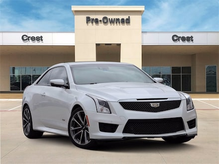 2016 Cadillac ATS-V Safety & Security Luxury Pkg HUD Sunroof Certified Coupe
