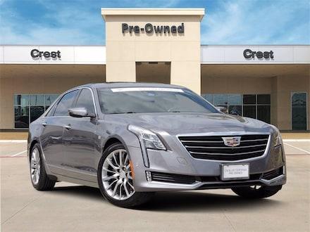2018 Cadillac CT6 3.6L AWD Luxury - Enhanced Vision & Comfort Pkg. - Sedan