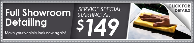 Full Showroom Detail Coupon, Plano