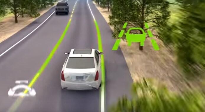 Cadillac Lane Keep Assist Technology