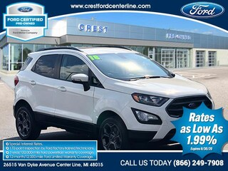 2018 Ford EcoSport SES/4WD/279 SUV
