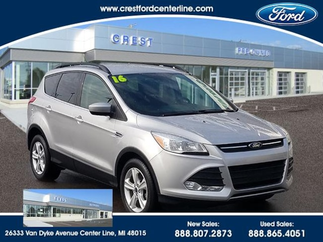 2016 Ford Escape SE FWD/1.6L/201A/Cold Weather Package/Sync/100 SUV