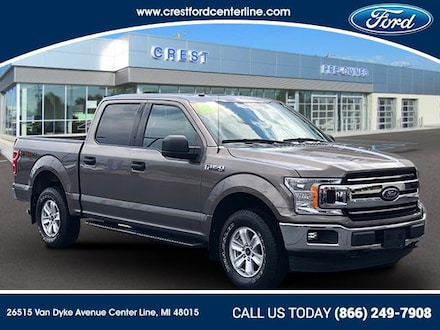 2018 Ford F-150 XLT/4WD/2.7L/300A/Syn3/Towpkg/466 Pickup Truck