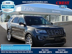 2017 Ford Explorer Limited 4WD 3.5L/300A/Leather/Nav/20 Wheels