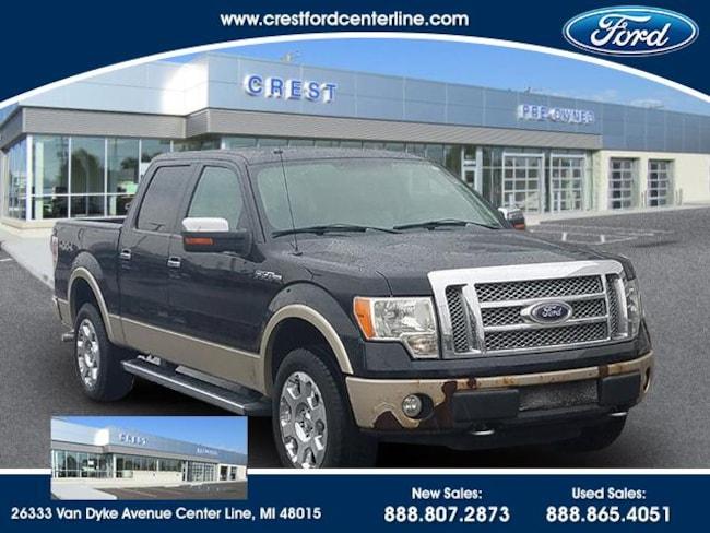 2010 Ford F-150 Lariat 4WD 5.4L/508A/Roof/Lariat Chrome Pkg/Tailga Pickup Truck