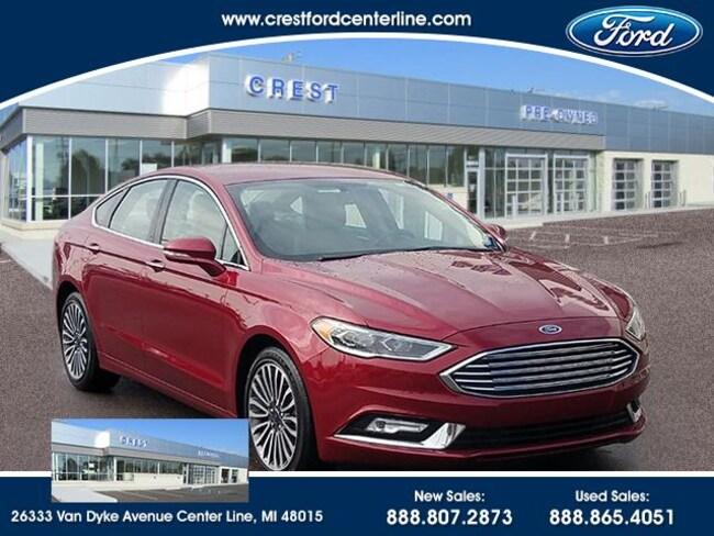 2017 Ford Fusion SE FWD/1.5L/202A/Sync3/18Wheels/101 Sedan