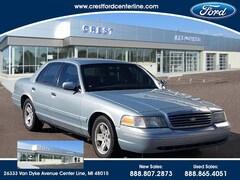 2002 Ford Crown Victoria Standard Sedan