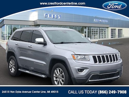2014 Jeep Grand Cherokee Limited/4WD/3.6L/Roof/Leather SUV