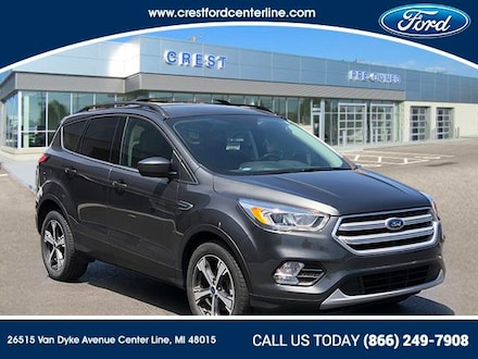2018 Ford Escape SEL FWD/1.5L/300A/Leather Htd Seats/Sync3 SUV