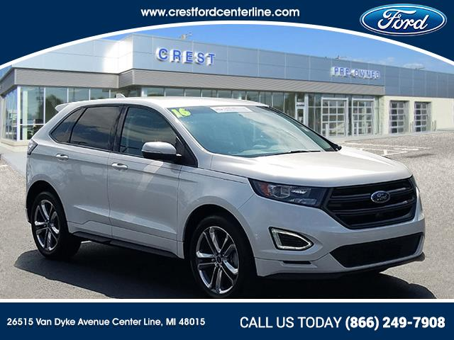 2016 Ford Edge Sport AWD/2.7L/400A/Cold Weather Pkg