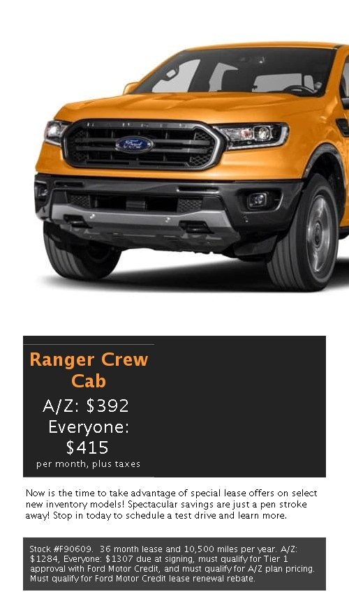 Explore the Regularly Offered New Ford Lease Specials Here