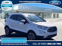 2018 Ford EcoSport Titanium 4WD/2.0L/400A/Nav/Sync 3/17 Wheels