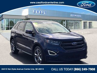 2016 Ford Edge Sport AWD/2.7L/401A/Nav/Roof/Cold Weather Pkg