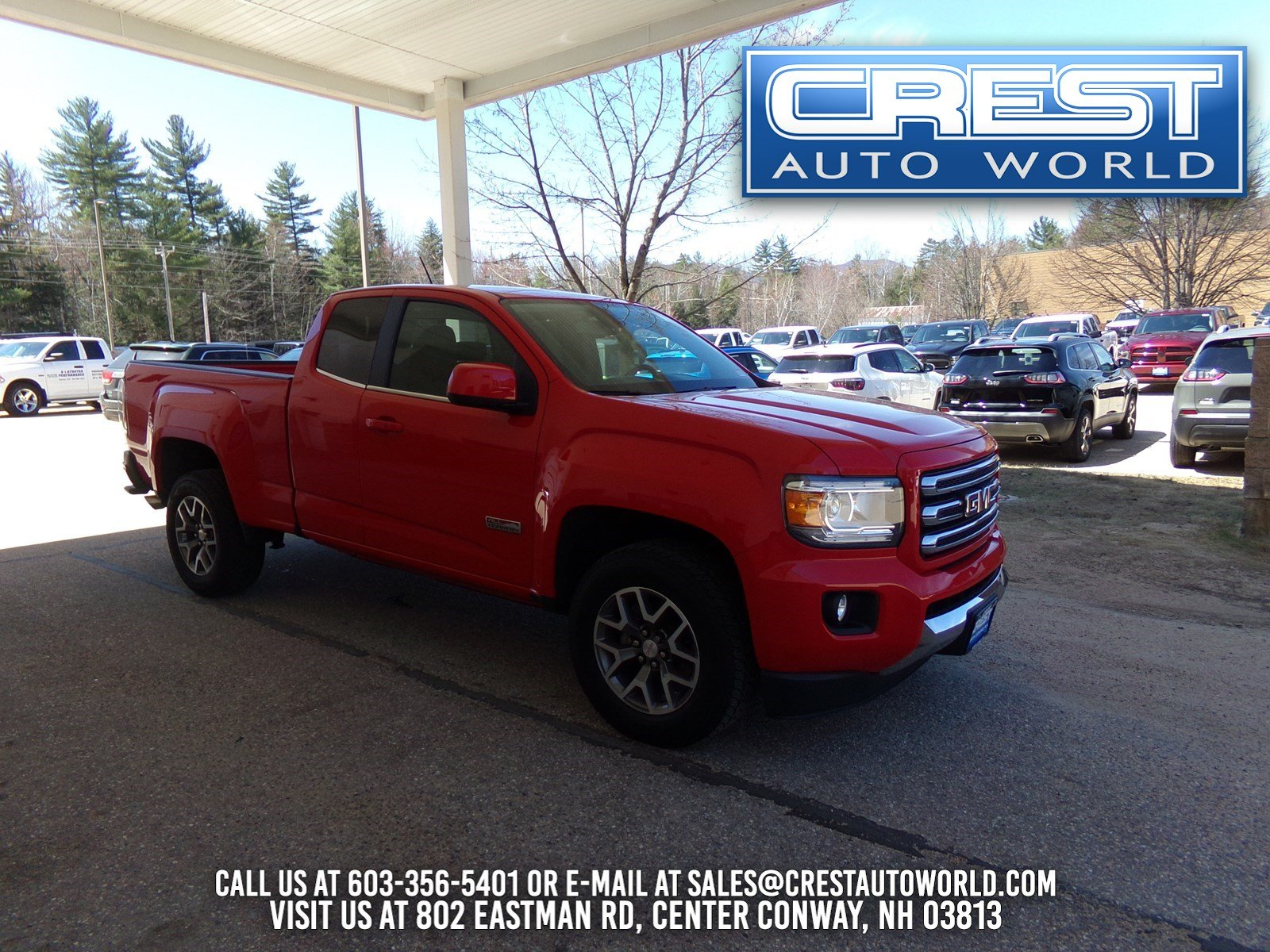 2016 GMC Canyon SLE Truck Extended Cab