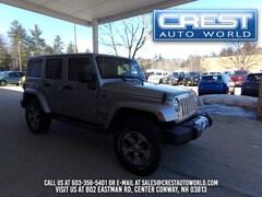 2017 Jeep Wrangler JK Unlimited Sahara 4x4 SUV