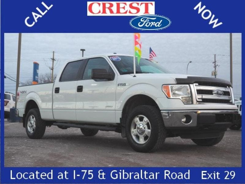 2013 Ford F-150 XL Crew Cab Short Bed Truck